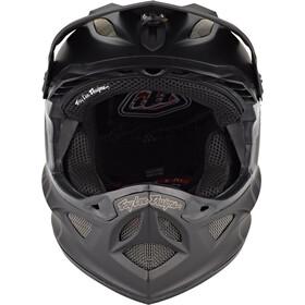 Troy Lee Designs D3 Fiberlite Helm mono black